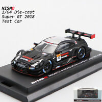 1/64 NISSAN GT-R NISMO GT500 SUPER GT 2018 TEST CAR NISMO MODEL CAR COLLECTION