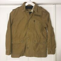 American Eagle Outfitters Sz.XL Beige Cotton Outdoors Cargo Jacket Mens NWT