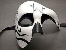 New Halloween Day Of The Dead Men's Phantom Masquerade Costume Mask