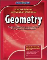 Geometry, Paperback by Glencoe Mcgraw-Hill (COR), Like New Used, Free shippin...