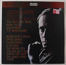 JOHN BARRY CONDUCTS HIS GREATEST MOVIE HITS / STEREO / CBS 1967