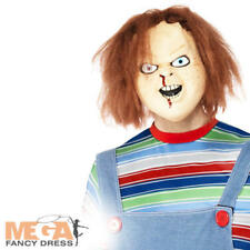 Chucky Adult Mask Halloween Mens Fancy Dress Horror Movie Costume Overhead Mask