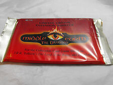MIDDLE EARTH THE DRAGONS SEALED BOOSTER PACK OF 15 CARDS
