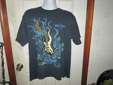 Hard Rock Cafe Paris Embroidered Guitar T Shirt Sz Extra Large