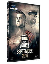 Official TNA Impact Wrestling One Night Only: September 2016 Event DVD