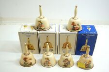 "Lot Of 6 M I Hummel Annual Collector 6"" Bell Collection 1979 - 1982 And 1978"