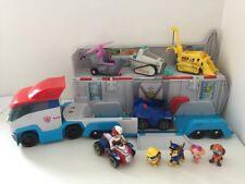 Paw Patrol Patroller Transporter PLAYSET PERSONAGGI VEICOLI giocattoli suoni Bundle SKY
