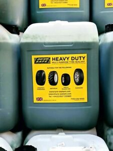 Tyre puncture sealant heavy duty commercial, construction & plant tyre sealant