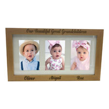 "Great Grandchildren Personalised Triple picture photo frame 6""x4"" B48-14"