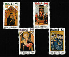 MALAWI 1984 SET, CHRISTMAS PAINTINGS.   M.N.H.