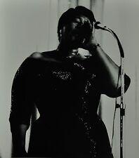 Chargesheimer Original 1961 30x40cm Ella Fitzgerald B&W Photo Print Jazz Singer