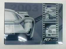 FLY CAR MODEL - CATALOGO GENERALE 2003