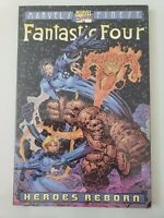 FANTASTIC FOUR HEROES REBORN TPB MARVEL'S FINEST 2000 1ST PRINT! JIM LEE! UNREAD