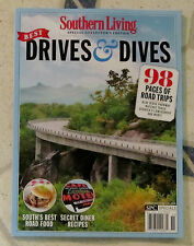 SOUTHERN LIVING Special Collector's Edition BEST DRIVES & DIVES 98 Pgs ROAD TRIP