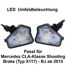 2x LED TOP SMD Umfeldbeleuchtung Weiß Mercedes CLA-Klasse Shooting Brake (7225)