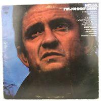 Vintage Vinyl LP Johnny Cash Hello, I'm Johnny Cash KCS 9943 Columbia 1972