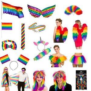Rainbow Accessories Gay Pride LGBT Party Parade Festival Wear