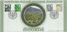 2001 GB (6 marzo) IRLANDA DEL NORD PITTURA definizioni BEHAM BLCS 201 Primo giorno di copertura