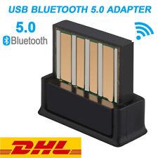 Bluetooth 5,0 USB Stick BT Adapter Highspeed Mini Nano Dongle für Laptop,PC