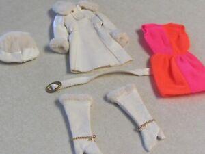 Vintage Barbie 1969 Fashion Red, White 'N Warm #1491 Complete