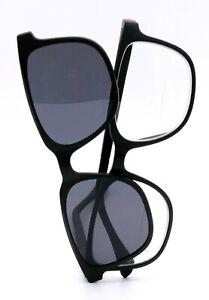 Bifokal Sonnenbrille Herren Lesebrille mit magnetischem Sonnenclip