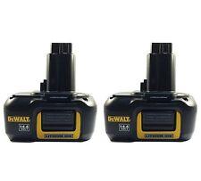 2 pack - New DeWalt DE9141 14.4V 1.1Ah Lithium Li-Ion Battery for Cordless Tools