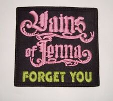 VAINS OF JENNA  - LOGO Embroidered PATCH Hardcore Superstar Cruel Intentions