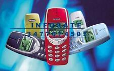 MITICO Telefono Cellulare NOKIA 3330 nuovo rigenerato