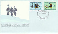 AUSTRALIA AAT 16 JANUARY 1984 EXPEDITION ANNIVERSARY OFFICIAL FIRST DAY COVER SH
