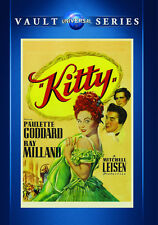 Kitty 1946 (DVD) Paulette Goddard, Ray Milland, Patric Knowles - New!