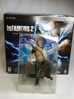 InFamous 2 Hero Edition Sony PlayStation 3 / PS3 Figurine Only With Box NO GAME