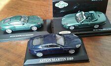 Lot de 3 Aston Martin  -1/43