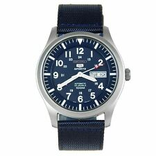 Seiko SNZG11K1 Men's Wristwatch - Blue