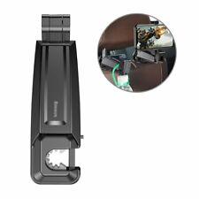 Baseus Backseat Vehicle Phone Holder Hook Leather Case Car Rear Seat Headrest