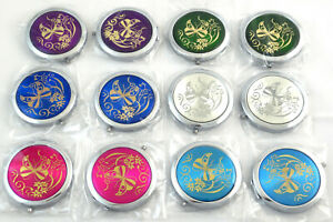 (Lot of 12) Compact Mirrors Dual-Side Magnify -Travel Makeup Vanity - New