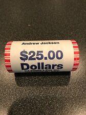 2008 Andrew Jackson $1 Presidential Dollar Roll - Philadelphia