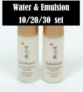 Sulwhasoo Concentrated Ginseng Renewing Water 5ml & Emulsion 5ml (10/20/30 set)