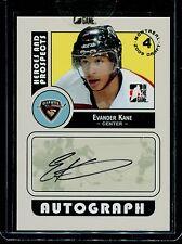 2008-09 ITG Heroes & Prospects Autograph Draft Day Pick  Evander Kane  #A-EK