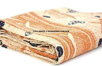 Vintage Set Indien Coton Bohème Couvre-Lit Gypsy Couverture Literie Housse