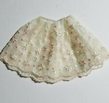 1959-1963 Vintage Barbie Embroidered Floral Petticoat #921