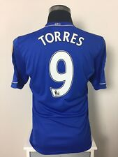 TORRES #9 Chelsea Home Football Shirt Jersey 2012/13 (S)