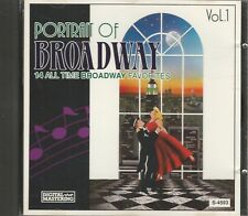 Music CD Portrait Of Broadway Volume 1 14 All Time Favorites