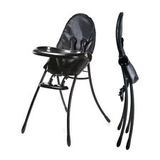 Chaise haute Nano Midnight Black Black Frame Bloom