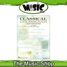 New Classical Crossover for Singers Music Book for Vocal & Piano