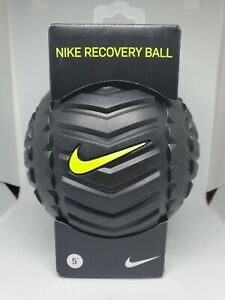 """Nike 5"""" Adult Unisex Recovery Ball Massage Muscle Color Neon Lime 5"""" Diameter"""