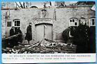 CPA: En Belgique - l'hopital de Loo bombardé par les allemands / Guerre 14-18