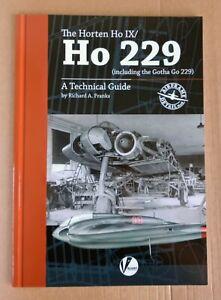 Airframe Detail 8: Horten Ho IX / Ho 229 inc. Gotha, Softback book Valiant Wings