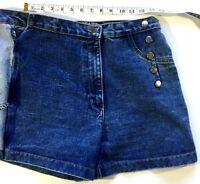Womens Art Of Style Denim Boho Breaker Jeans  Skorts Size 7