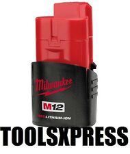 NEW GENUINE MILWAUKEE M12 RED LITHIUM BATTERY 1.5AH  M12B OZ MODEL **SPECIAL**