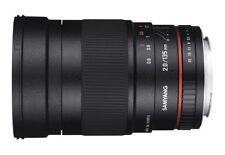 Objetivos teleobjetivos manual para cámaras 135mm